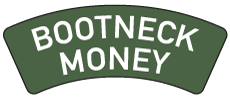 Bootneck Money Sticky Logo Retina
